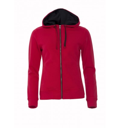 Sweat CLASSIC HOODY FULL ZIP LADIES Clique